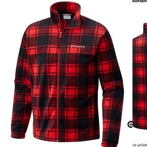 HP* Men's Columbia fleece jacket like new XL